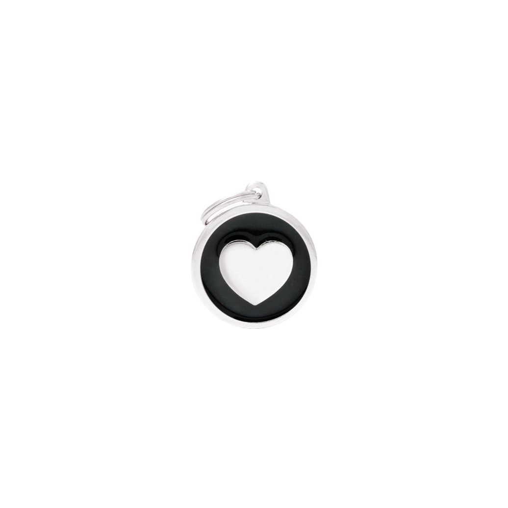 View larger image of Circle Heart - Black - Big