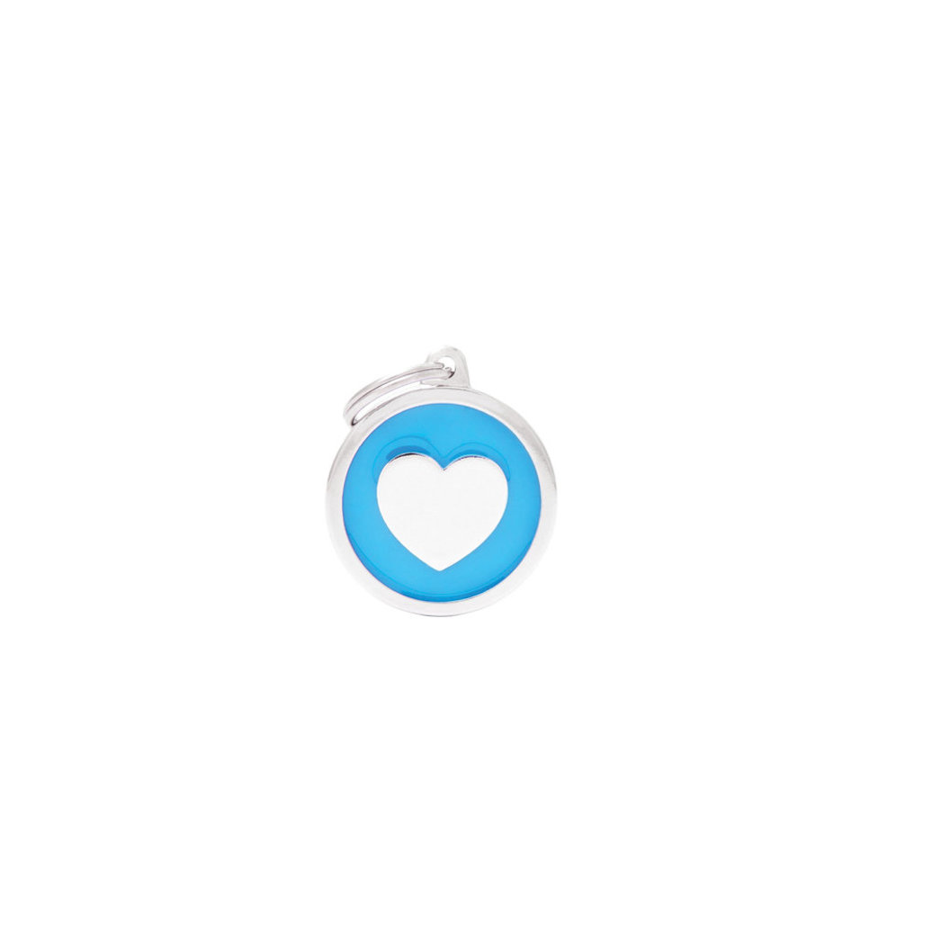 View larger image of Circle Heart - Light Blue - Big