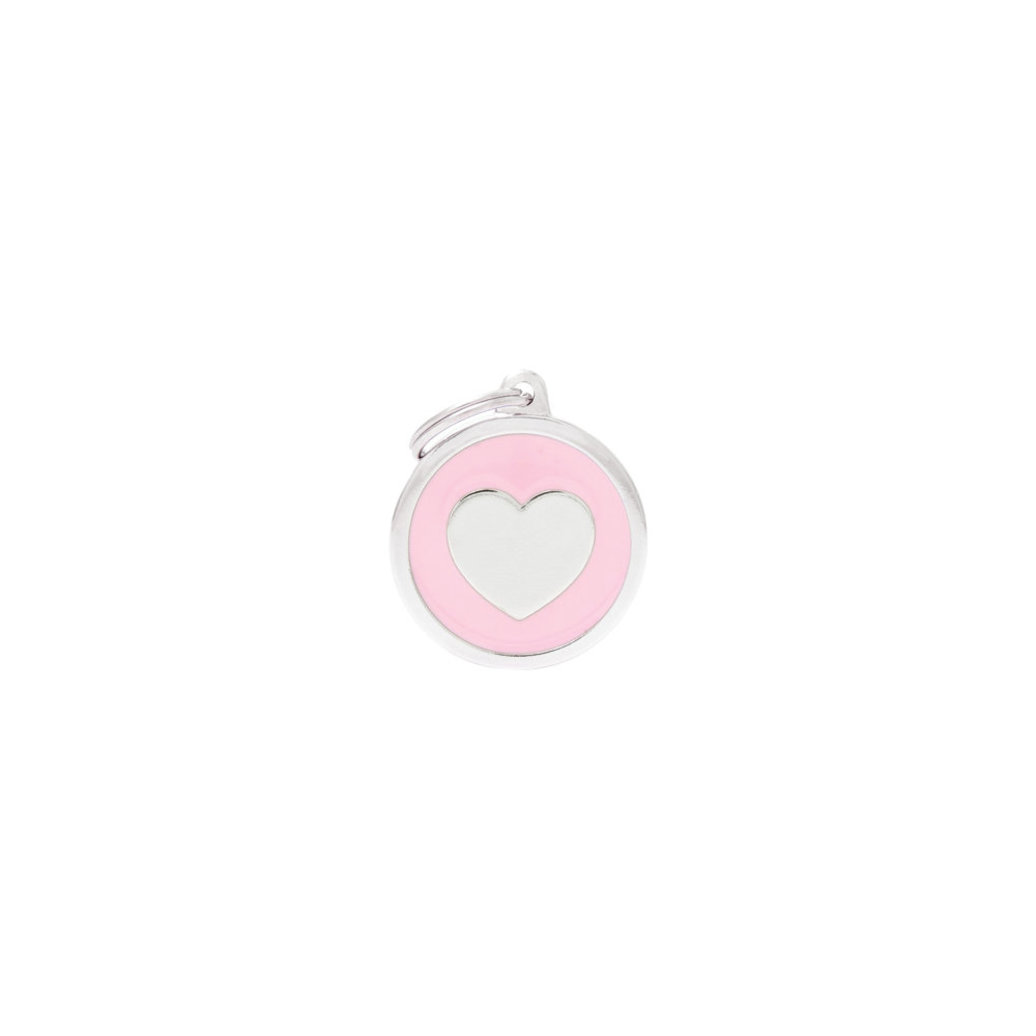 View larger image of Circle Heart - Pink - Big