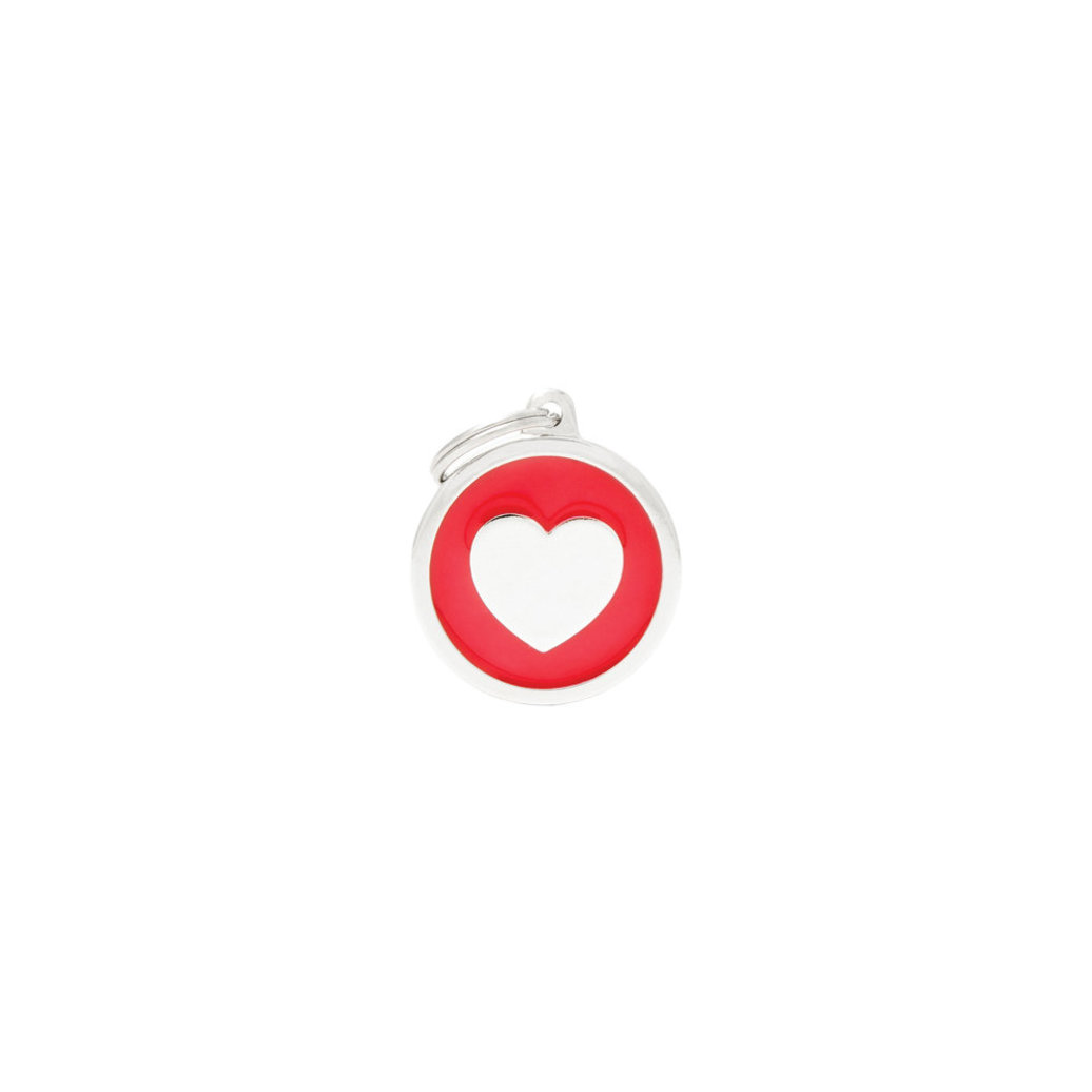 View larger image of Circle Heart - Red - Big