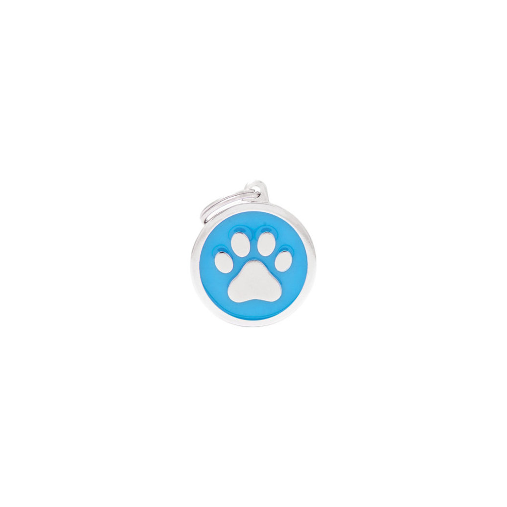 View larger image of Circle Paw - Light Blue - Big