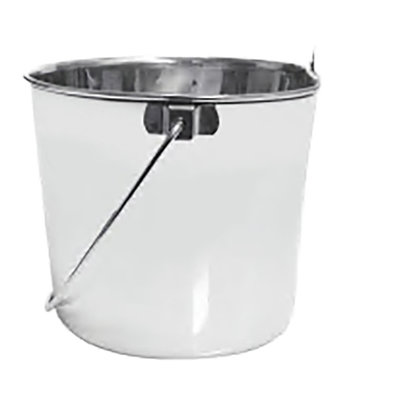 Pail with Flat Side