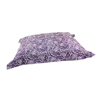 Cloud Pillow - Purple Flower - Medium