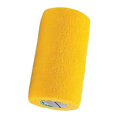 Self-Adhesive Bandage - Yellow - 4""