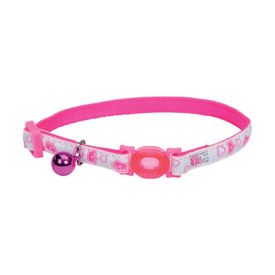 Breakaway Collar - Glow Pink Queen