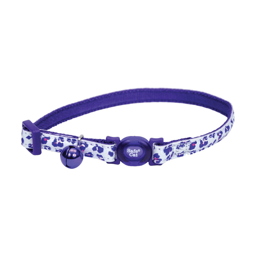 View larger image of Breakaway Collar - Glow Purple Leopard