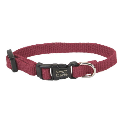 """C - New Earth Soy - Cranberry - 3/8"""" Width - 6-8"""""""