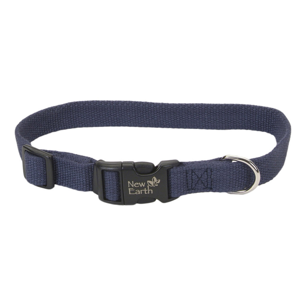 "View larger image of Collar - New Earth Soy - Indigo Blue - 3/4""Width-12-18"""