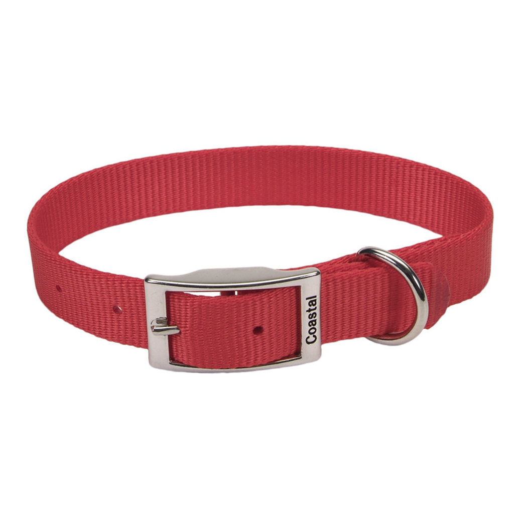 """View larger image of Collar - Red - 1"""" Width"""