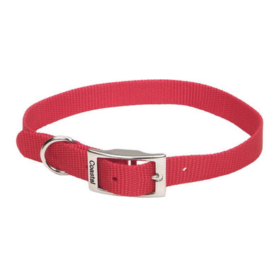 "Collar - Red - 3/4"" Width"