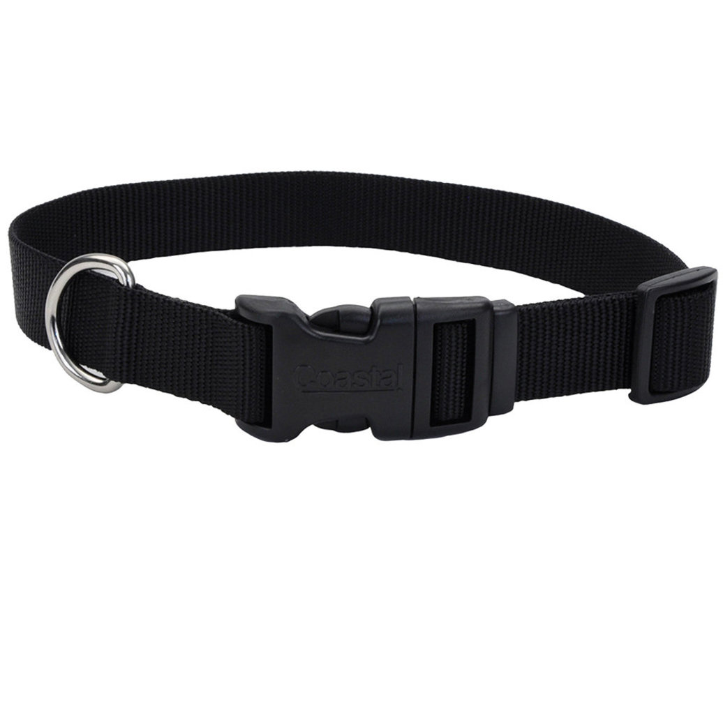 "View larger image of Collar - Tuff - Black - 3/4"" Width - 14-20"""