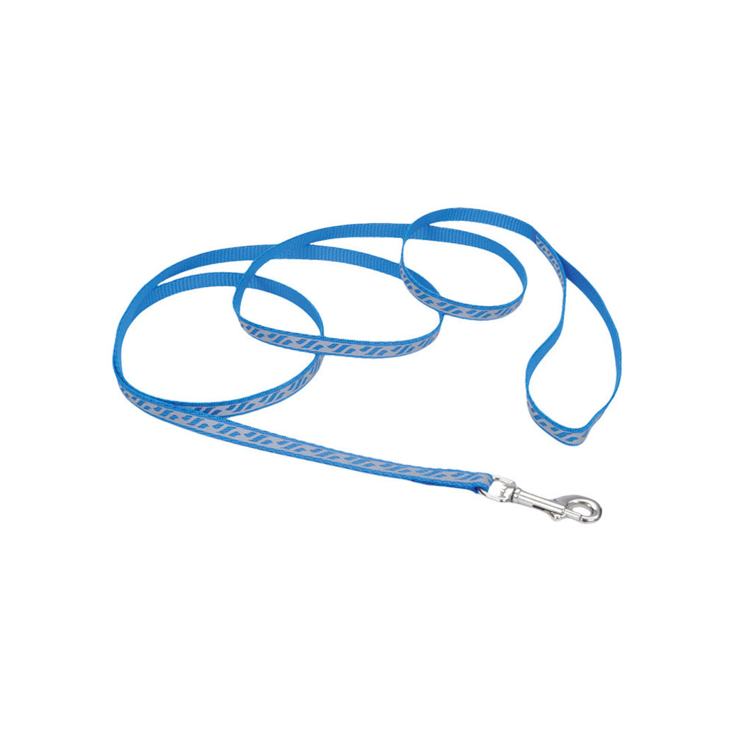 """View larger image of L - Lazer Brite Reflect -Blue Lagoon-3/8"""" Width-6'"""