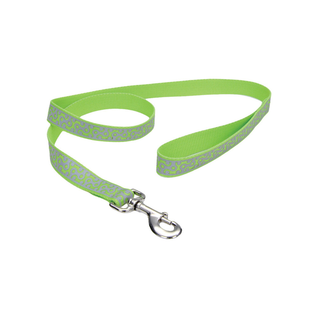 "View larger image of L - Lazer Brite Reflect - Lime Geo - 1"" Width - 6'"
