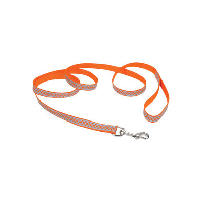 "L - Lazer Brite Reflect-Orange Rings-5/8"" Width-6'"