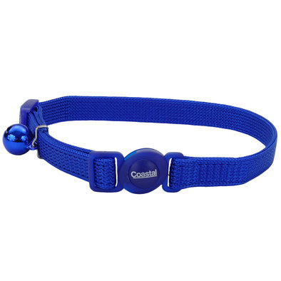 Nylon Breakaway Collar - Blue - 3/8""