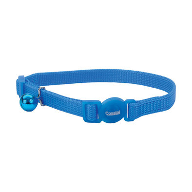 Nylon Breakaway Collar - Blue Lagoon - 3/8""