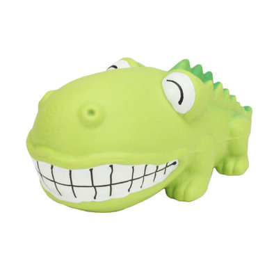 Dog Toy - Big Head Alligator - 7""
