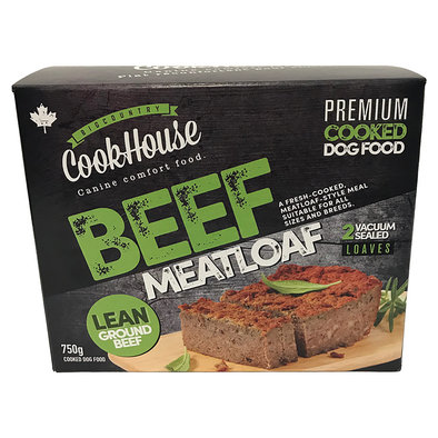Cooked Meatloaf - Beef