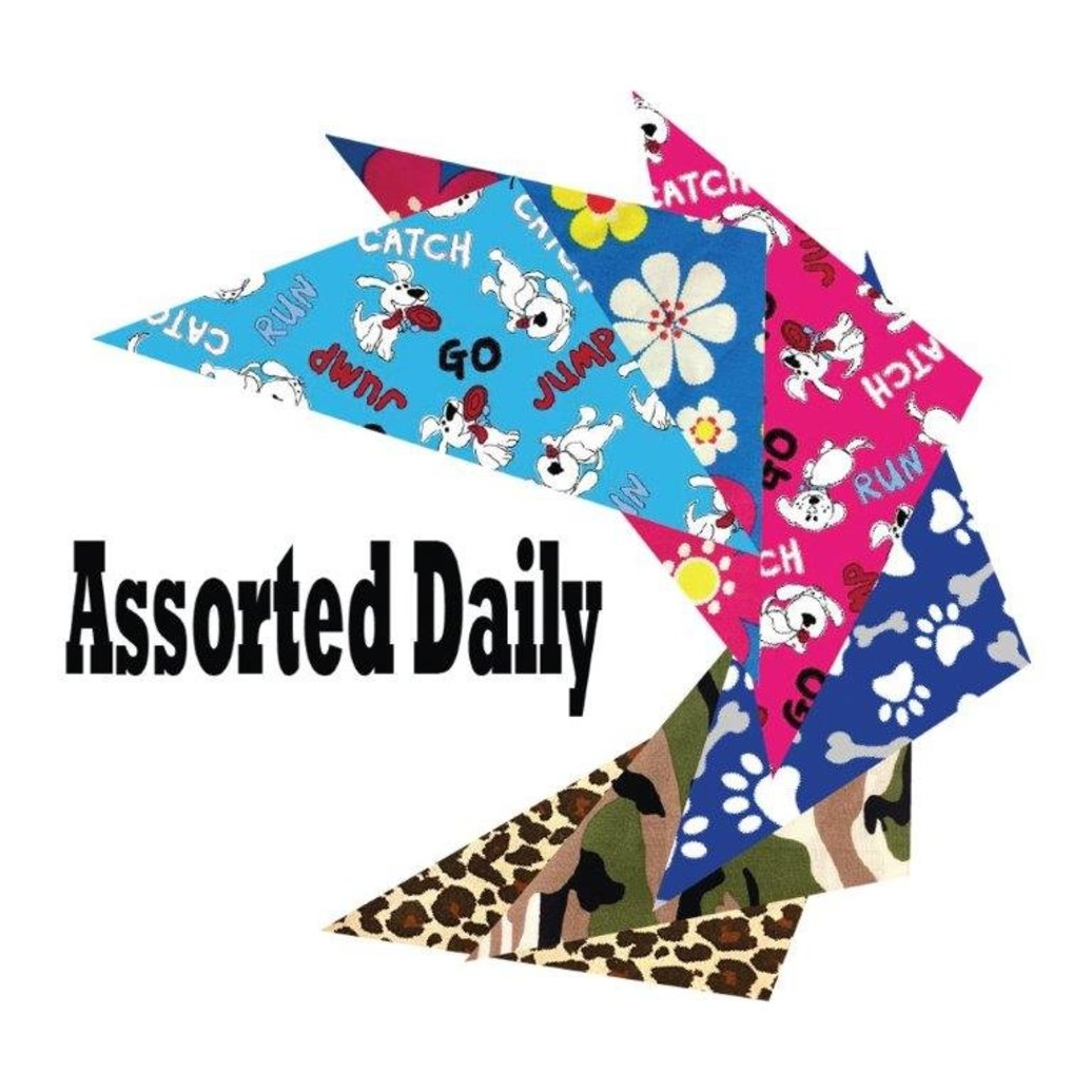 View larger image of Bandanas - Assorted Daily - 72 pc
