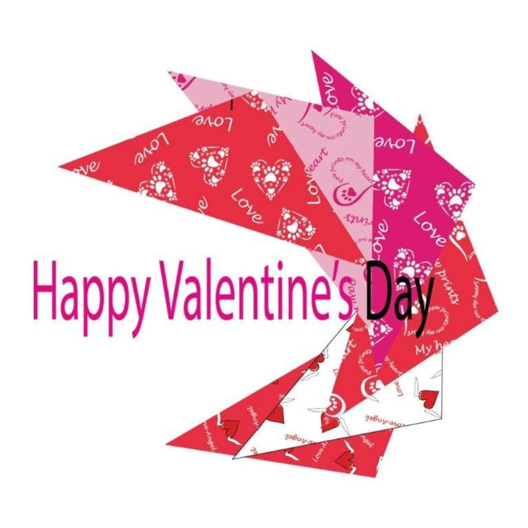 View larger image of Bandanas - Assorted Valentines - 72 pc
