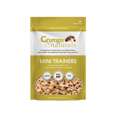 Mini Trainers Freeze Dried Beef Liver