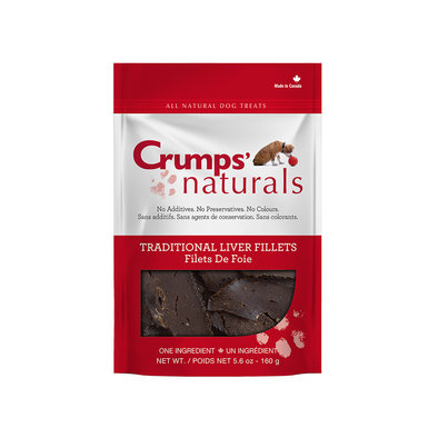 Traditional Liver Fillets Dog Treats