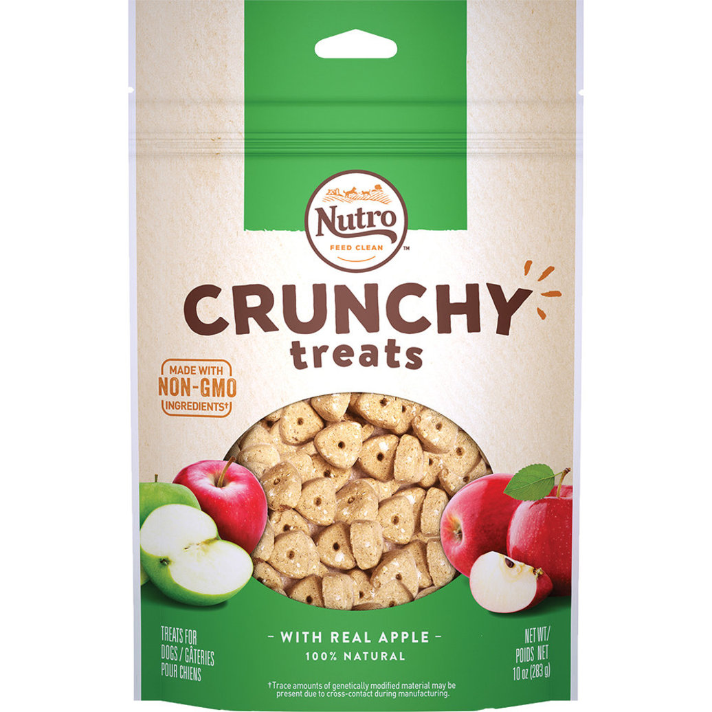 View larger image of Crunchy Treats, Apple - 10 oz