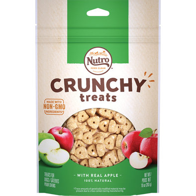 Crunchy Treats, Apple - 10 oz