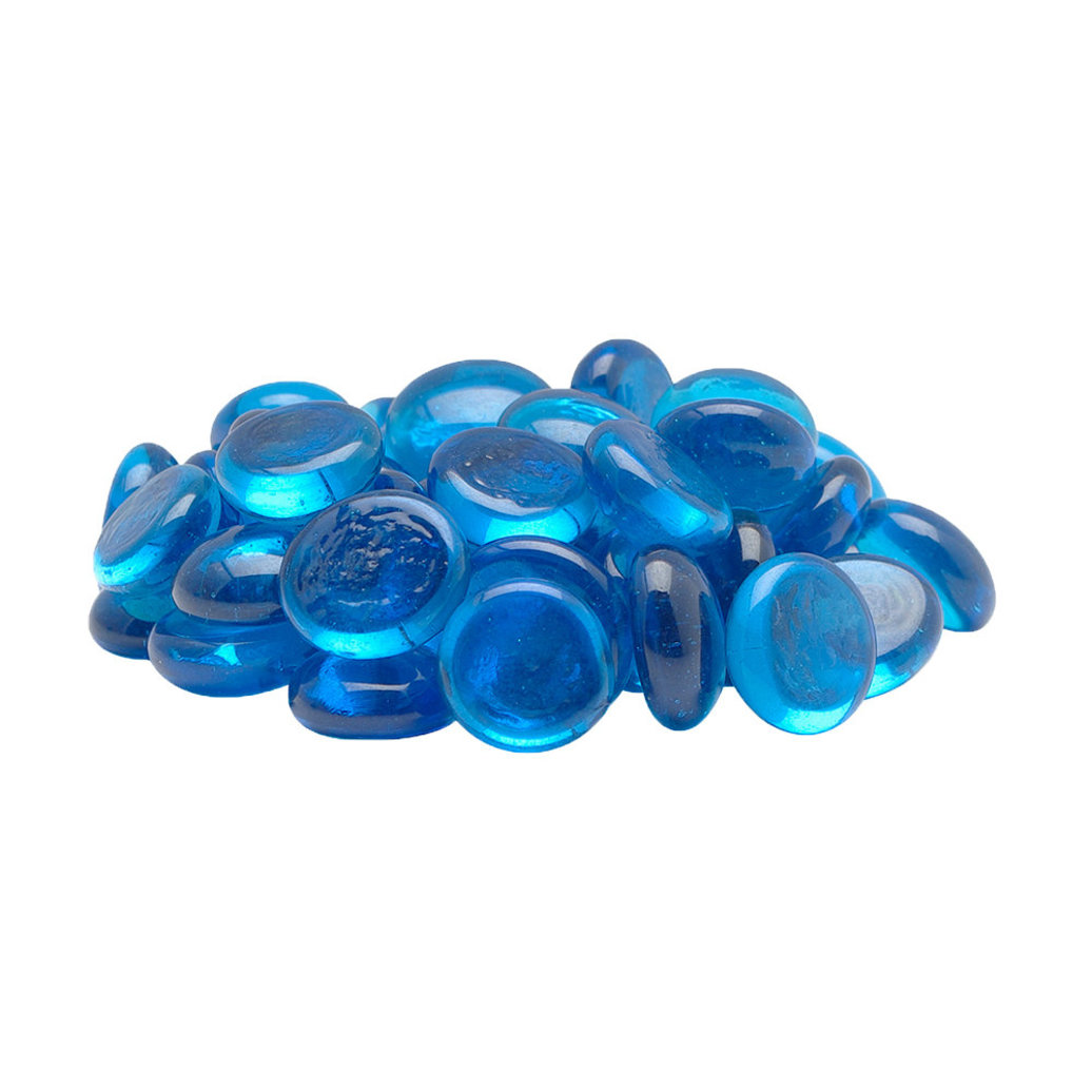 View larger image of Decorative Marbles - Blue