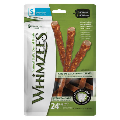 Dental Treat, Veggie Sausage - Small - 28 Pc