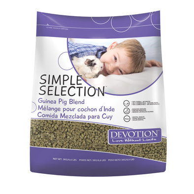 Simple Selection, Guinea Pig Diet - 3 kg