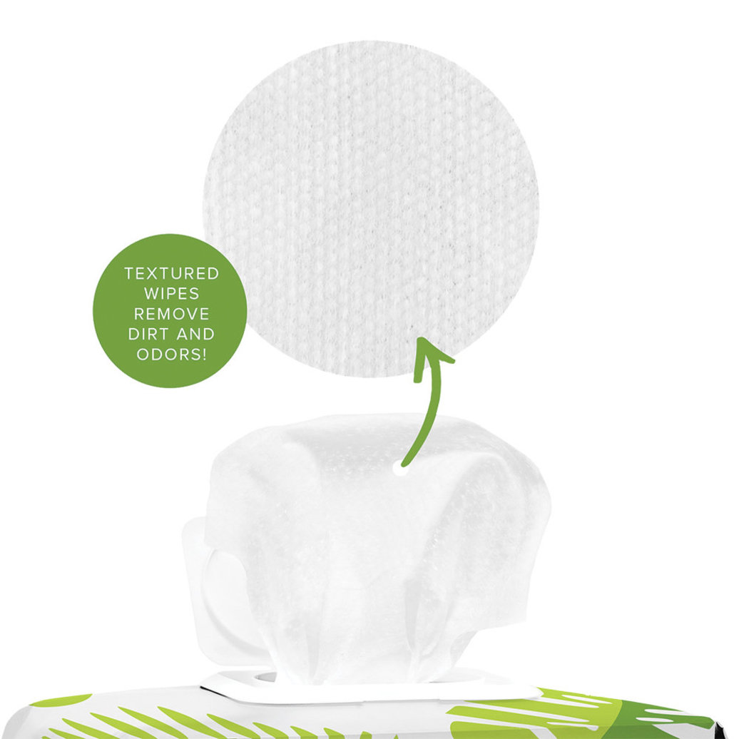 View larger image of Compostable Grooming Wipes - Unscented