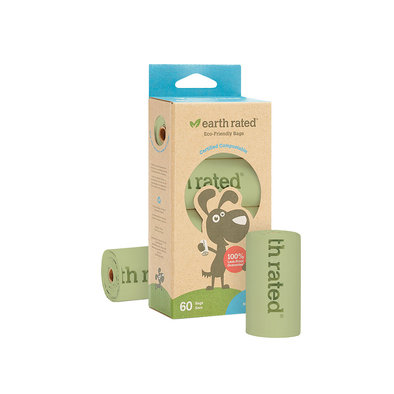 PoopBags Compostable - 60 Ct