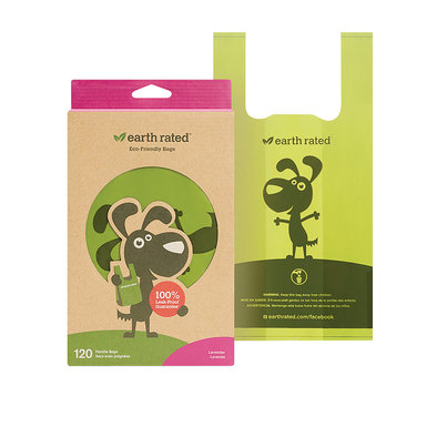 PoopBags Scented with handles - 120 Ct