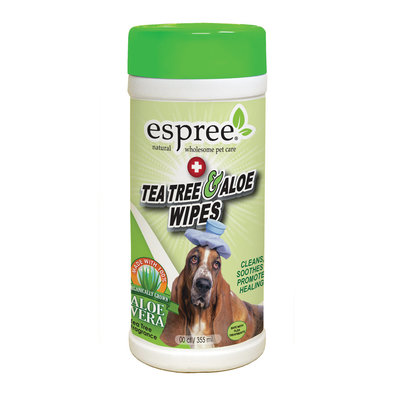 Tea Tree & Aloe Healing Wipes - 50 Pc