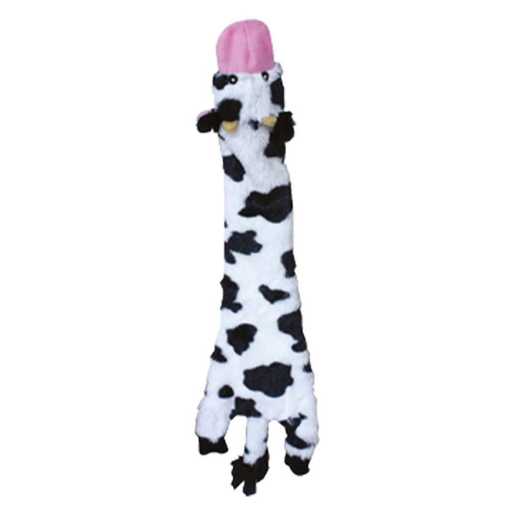 """View larger image of Ethical, Plush Skinneeez Crinkler Cow - 14"""""""