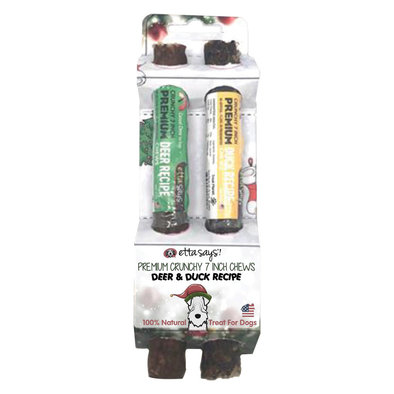 """Deer/Duck Chew Holiday Pack - 7"""""""