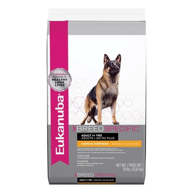 Dry Dog Food, German Shepherd Nutrition - 30 lb
