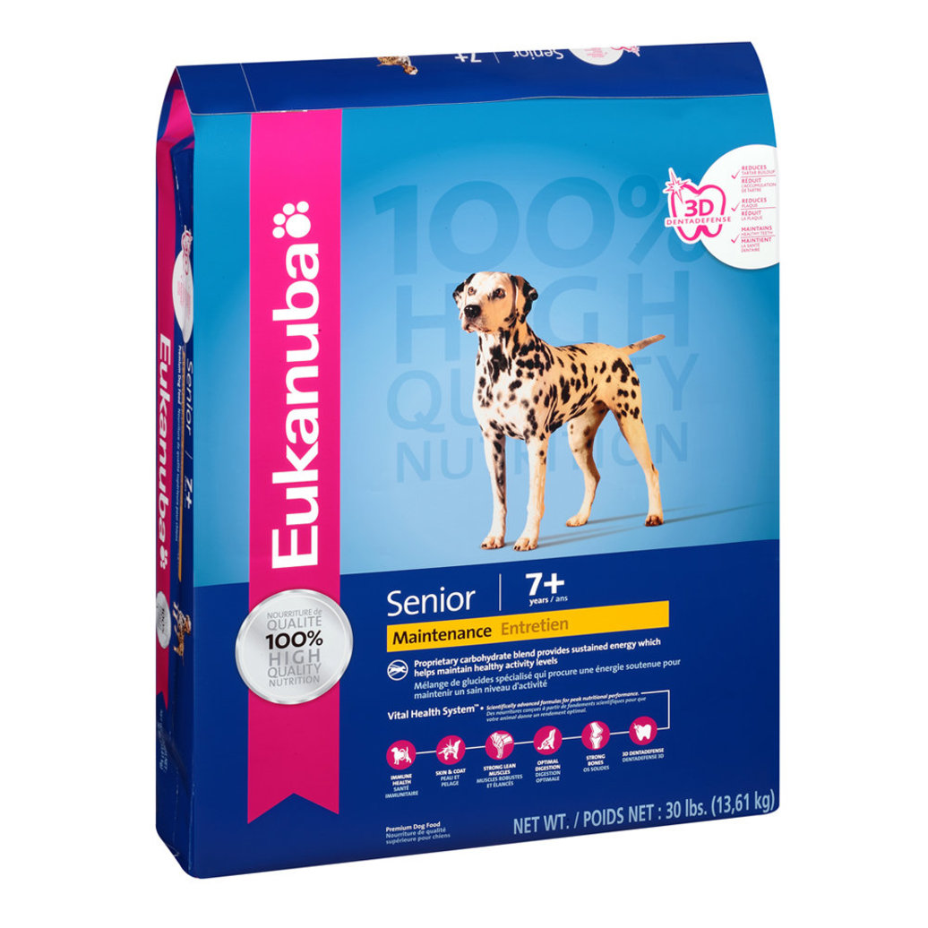 View larger image of Senior Medium Breed Dry Dog Food - 30 lb
