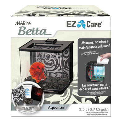 EZ-Care Betta Kit - Black - 2.5 L