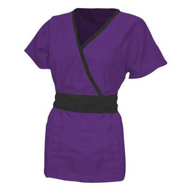 Tieback Wrap - Plum w/ Black
