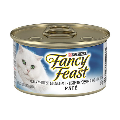 Paté Ocean Whitefish & Tuna Feast Wet Cat Food - 85 g