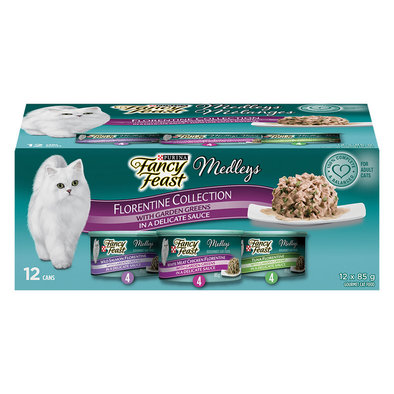 Medleys Florentine Collection Wet Cat Food Variety Pack - 85 g, 12 Pk
