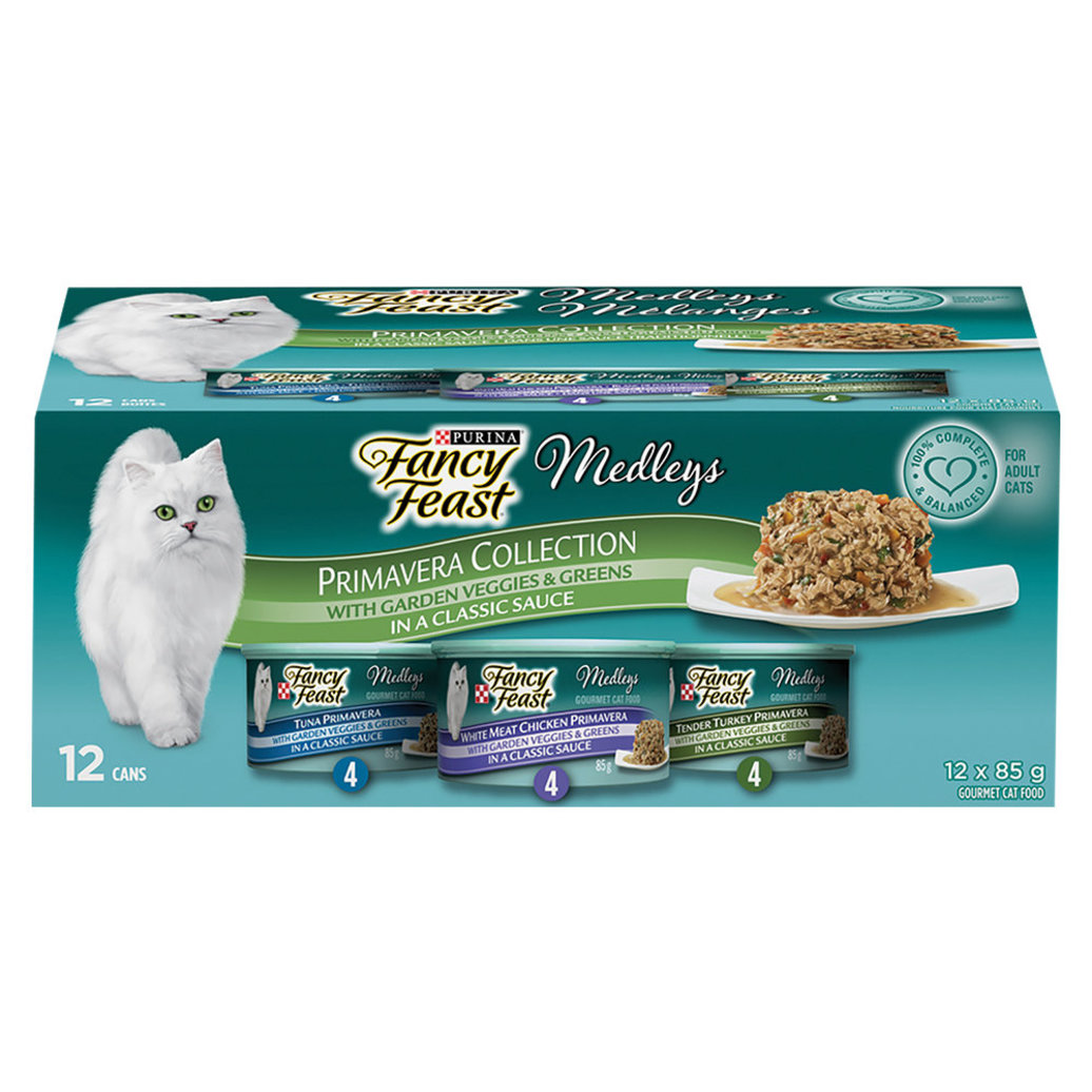 View larger image of Medleys Primavera Collection Wet Cat Food Variety Pack - 85 g, 12 Pk