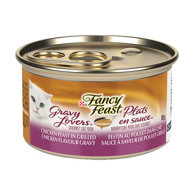 Gravy Lovers Chicken Feast in Grilled Chicken Flavour Gravy Wet Cat Food - 85 g