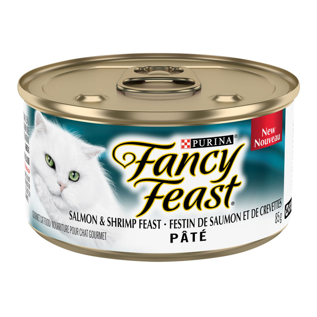 View larger image of Paté Salmon & Shrimp Feast Wet Cat Food - 85 g