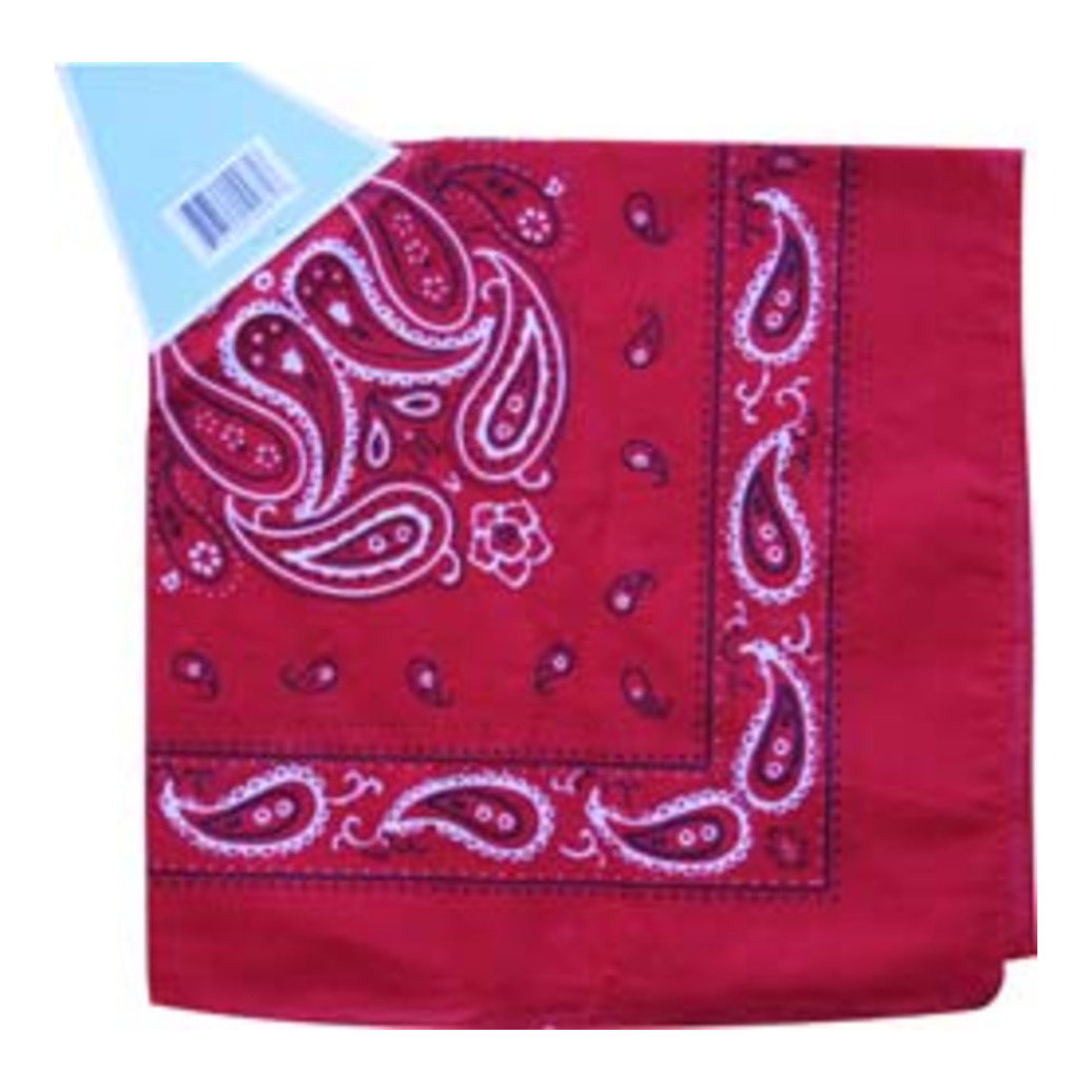 View larger image of Bandana - Red Paisley