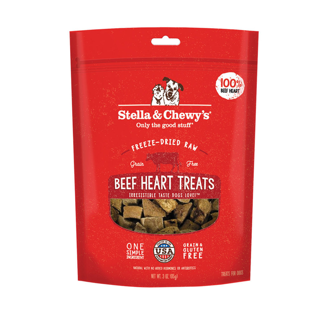 View larger image of Freeze-Dried Raw Beef Heart Treats - 85 g