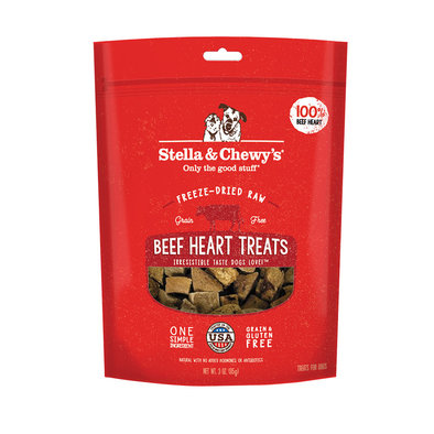 Freeze-Dried Raw Beef Heart Treats - 85 g