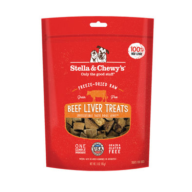 Freeze-Dried Raw Beef Liver Treats - 85 g